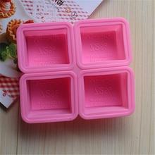 LFGB& fda gıda sınıfı özel silikon sabun kalıpları sabun silikon kalıp el yapımı sabun kalıbı