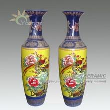 1.4meter Tall Chinese Big Ceramic Vase Ceramic For Home Decor