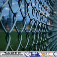 China manufacturer cheap high quality galvanized 9 gauge chain link fence