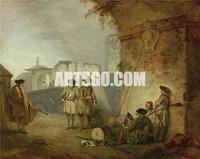 Art Reproduction of the Old Master for Wall Art