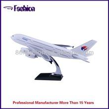 Popular plastic airplane model