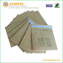 Our factory direct sale self adhesive mailer kraft bubble envelope self seal