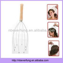 Handle Woode hand head massager