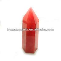 Wholesale red quartz Crystal Point