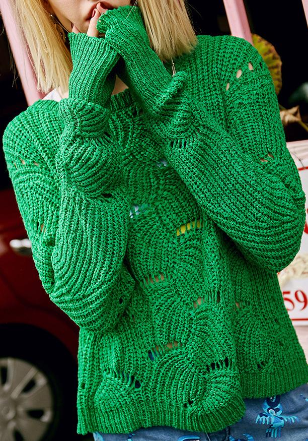 Korean-style-green-knitting-pattern-sexy-loose.jpg