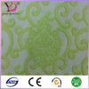 Jacquard fabric nylon spandex material 3d flower stretch mesh fabric