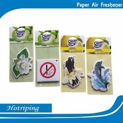 Guangzhou promote item top quality car paper air freshener