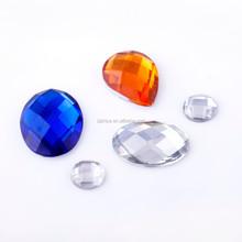 Non Hotfix Rhinestones a grade resin cabochon rhinestones wholesale for garment accessori