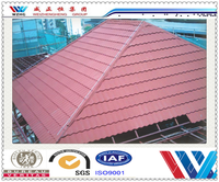 China supplier roofing material/lightweight roofing materials roof tile/stone coated steel roofing tile (factory)
