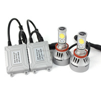 Newest 4S H11 led headlight conversation kit with Automatic detection function 3500 lumen super bright
