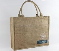 Cheap new products eco-friendly jumbo jute shopping bag