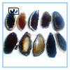 charm factory jewelry 2015 Fashion Brazilian agate slices pendant,Black Agate Jewelry