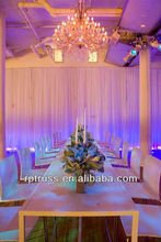 RP Aluminum crossbar/backdrop pipe and drape for wedding/show/events/pillar decoration