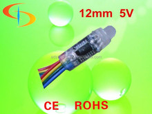 12mm Smart Programmable IC Controlled Color Changing rgb led pixel dmx light