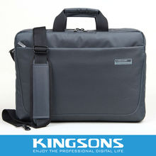 Business style customized size soft laptop briefcase bag 15''