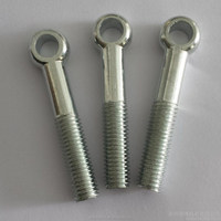 High Polished Stainless Steel 304 M6x60 Eye Bolt And Locknut With Factory Price