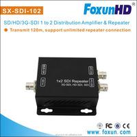 SDI Products 1080P Video Audio SD/HD/3G SDI Video Splitter 1 Input 2 Output 1x2