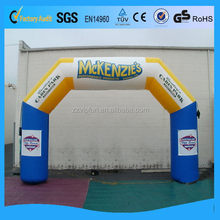 Top level useful entrance arch inflatable
