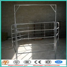 factory supply wholesale used 6 rail sheep and goat fence panels