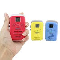 New Red/Blue/Yellow Walkie Talkie TongDaXin TDX-Q3 UHF 450-470MHz16CH 3W FM Radio Scan Monitor Emergency Alarm two way radio