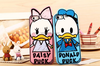 Cartoon Daisy Donald Duck Couples Soft Silicone Protective Case For iPhone 4 4S 5 5S 6 6Plus