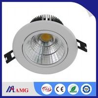 Hot sale ! high quality high lumen 100lm/w PF>0.9 60degree beam angle COB 10w led downlight