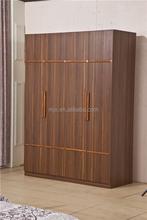 2015 home furntiure bedroom furniture four doors wardrobe Custom wardrobe
