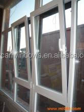 Best cheap UPVC Mosquito tilt and turn Window Color In white