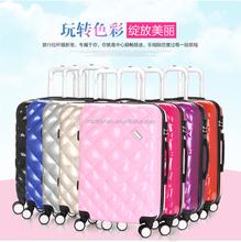 Travel Land 3 Pcs Luggage Travel Set Bag ABS Trolley Suitcase w/TSA Lock Black