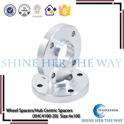 20mm thickness china wholesale 4 lug wheel spacer 4x100