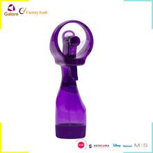 Powerful mini handheld spray water fan