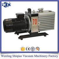 2XZ direct coupled motor lab vacuum pump rotary vane vacuum pump