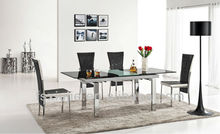 2013 Modern Square Folding Console Table/Glass Dining Room Table L806B