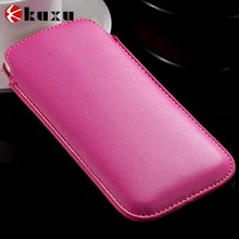 Mobile phone case pu leather phone bag for sumsung s3/s4/s5 for iphone4/5/6