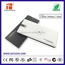 Amazing Product High Capacity 8000 mah QI Wireless Power Bank/Wireless Power Bank Charger for mobile phones