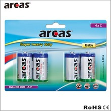 C Size R14 Battery 1.5v with CE Certification