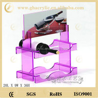 Pop design acrylic wine stopper display rack for home or hotel use