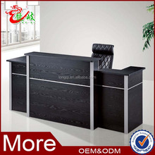 alibaba china melamine office furniture front table salon beauty reception front table