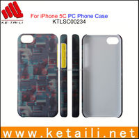 design sublimation printing cell phone case for iphone 5C