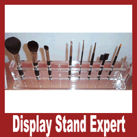 Professional OEM Design Different Style Elegant Clear Acrylic Makeup Mac Cosmetic Display Stand