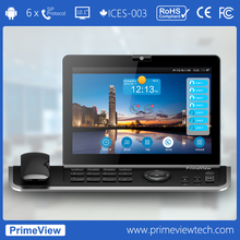 "video phone, 720p HD 10.1"" Touch Screen, 6 SIP+1 PSTN"