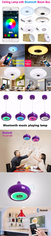 RGB led light brightness adjustable Bluetooth music player  living room music box ceiling light with speaker (2).jpg