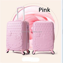 """20"""" Women Travel Suitcase with Lock Luggage can bring the aircraft Landing Chassis Spinner Luggage"""