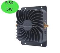 5W 5.8GHz wifi signal booster broadband amplifiers 5.725-5.85GHz WLAN wireless signal booster 5.8ghz signal booster