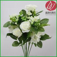 Cheap hot sell silk fabric wedding rose petals