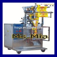 Super quality low price sachet shampoo packing machinery
