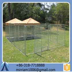 2015 Hot Sale Hard Eco-friendly Strong Low price New design Safe dog run kennels/black dog kennels