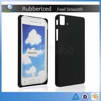 Smooth Feeling Sublimation Blank Rugged Rubberized Phone Case For BQ Aquaris E5 / Fnac Phablet E5