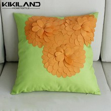 New Design 3D Sun Flower Waterproof Cushion Cover / Outdoor Pillow Case
