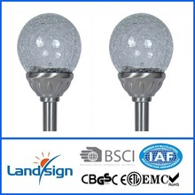 Chinese OEM solar light manufacturer CE,ROHS XLTD-721A PP+Glass color changing outdoor solar light